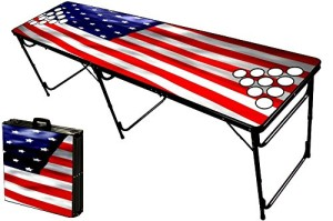 USA Beer Pong Table